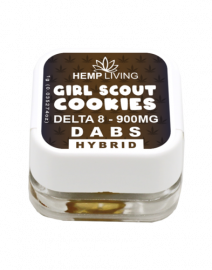 HL girl scout cookies dabs
